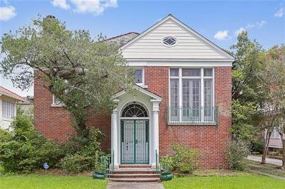 New Orleans Single Family Home Pending Continue to Show: 17 Audubon Boulevard