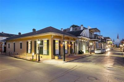 French Quarter Single Family Home For Sale: 839 Orleans Avenue