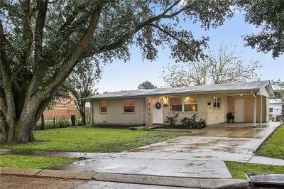 Metairie Single Family Home Pending Continue to Show: 8933 25th Street