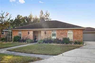 Metairie Single Family Home For Sale: 4528 Barnett Street