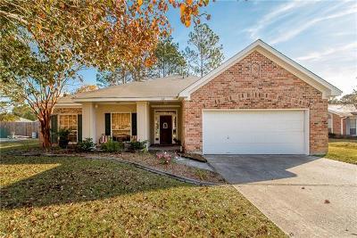 Slidell Single Family Home For Sale: 308 Cherrybark Drive