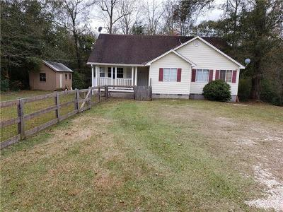 Covington Single Family Home For Sale: 81427 Highway 1129 Highway