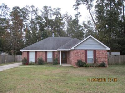 Slidell Single Family Home For Sale: 135 W Live Oak Drive