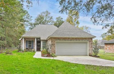 Slidell Single Family Home For Sale: 1757 Marsha Drive