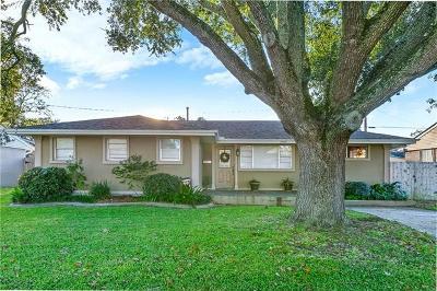 Metairie Single Family Home For Sale: 3900 Tartan Drive