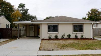Single Family Home For Sale: 3013 Jasper Street