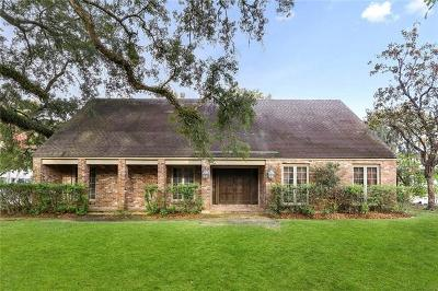 River Ridge, Harahan Single Family Home For Sale: 5 Kinder Lane