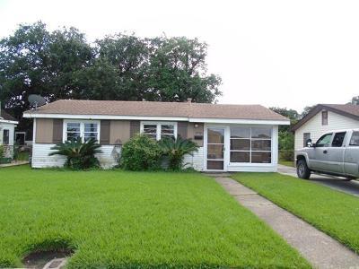 Gretna Single Family Home For Sale: 2712 Hero Drive