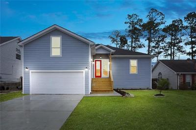 Slidell Single Family Home For Sale: 1258 Admiral Nelson Drive