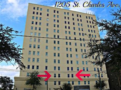 Jefferson Parish, Orleans Parish Condo For Sale: 1205 St Charles Avenue #203