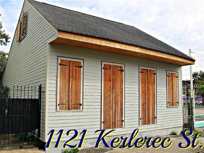 New Orleans Single Family Home For Sale: 1121 Kerlerec Street