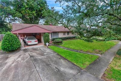 Metairie Single Family Home For Sale: 405 Airline Park Boulevard