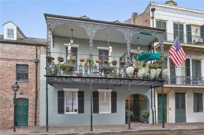Jefferson Parish, Orleans Parish Condo For Sale: 1225 Chartres Street #4