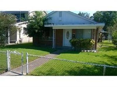 Gretna Single Family Home For Sale: 1000 Virgil Street