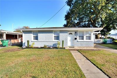 Metairie Single Family Home For Sale: 213 Jade Avenue