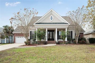 Slidell Single Family Home For Sale: 116 Lighthouse Point