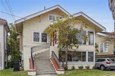 New Orleans Single Family Home For Sale: 2526 Jefferson Avenue