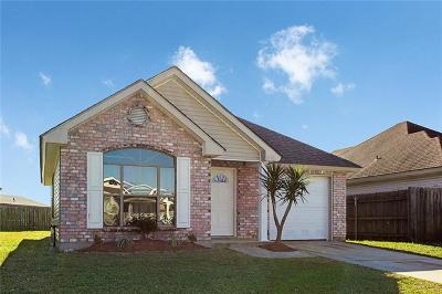 Marrero Single Family Home For Sale: 2141 Constantine Drive