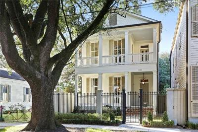 New Orleans Single Family Home For Sale: 536 Nashville Avenue