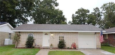 Marrero Single Family Home For Sale: 2520 Pritchard Road