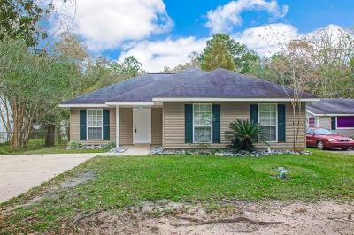 Slidell Single Family Home For Sale: 218 Maplewood Drive