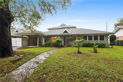 New Orleans Single Family Home For Sale: 6335 Caldwell Drive