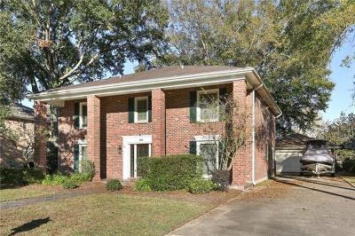 Kenner Single Family Home For Sale: 20 Chateau Trianon Drive