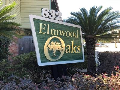 River Ridge, Harahan Condo For Sale: 832 S Clearview Parkway #313