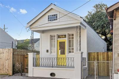 New Orleans Single Family Home For Sale: 710 Sixth Street