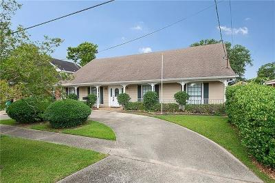 Metairie Single Family Home For Sale: 804 Radiance Street