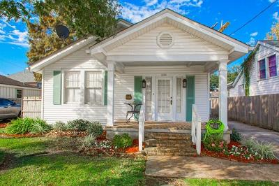 Metairie Single Family Home For Sale: 520 Labarre Drive