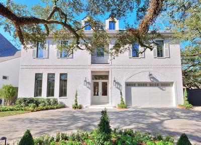 Metairie Single Family Home For Sale: 2 Farnham Place