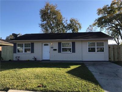 Marrero Single Family Home For Sale: 5825 Bienvenue Avenue