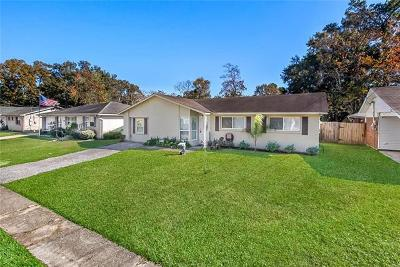 Slidell Single Family Home For Sale: 3722 Arrowhead Drive