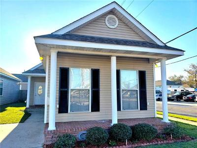 Gretna Single Family Home For Sale: 500 Fried Street