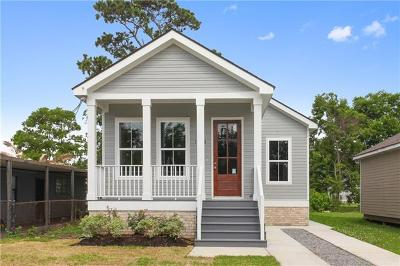 New Orleans Single Family Home For Sale: 1414 Tennessee Street