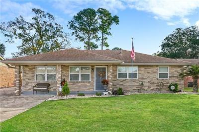 Marrero Single Family Home For Sale: 2117 James Drive