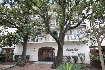 Jefferson Parish, Orleans Parish Condo For Sale: 1765 Coliseum Street #303