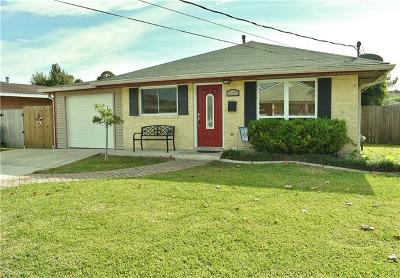 Marrero Single Family Home For Sale: 5113 Page Street