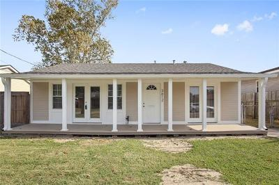 Kenner Single Family Home For Sale: 3612 Arizona Avenue
