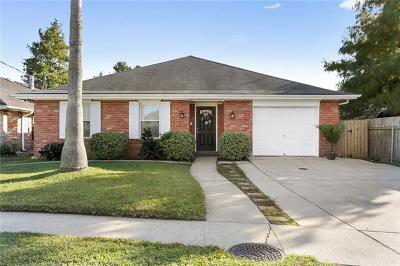 Metairie Single Family Home For Sale: 3968 Bellview Street