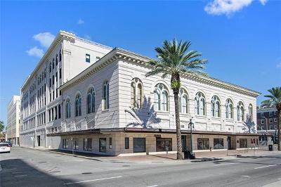 Jefferson Parish, Orleans Parish Condo For Sale: 1201 Canal Street #316