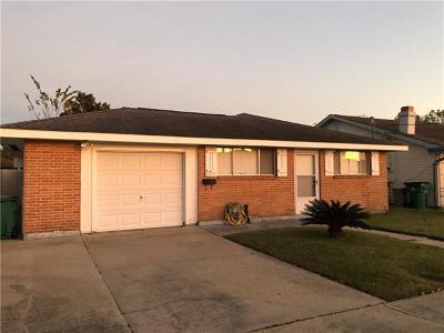 Marrero Single Family Home For Sale: 1013 St Ann Street