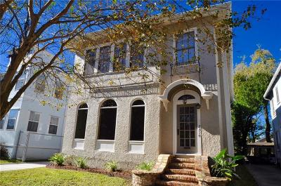 New Orleans Multi Family Home For Sale: 2308 Audubon Street