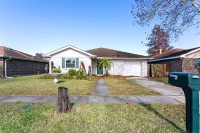 Kenner Single Family Home For Sale: 804 Libra Lane