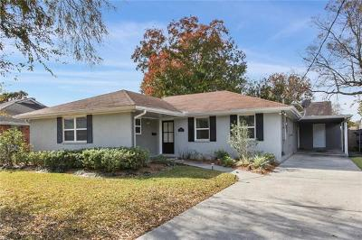 Metairie Single Family Home For Sale: 4712 Tartan Drive