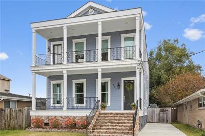 New Orleans Single Family Home For Sale: 401 22nd Street