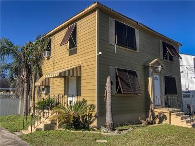 New Orleans Multi Family Home For Sale: 6000 Mandeville Street
