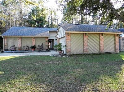Slidell Single Family Home For Sale: 201 Drury Lane