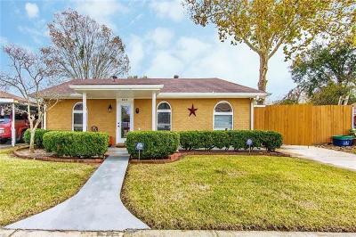 Marrero Single Family Home For Sale: 3819 Jamie Lynn Drive